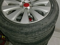Subaru 17 inch Rims with Tyres