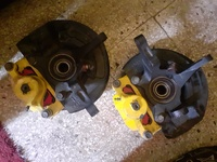 front calipers for mitsubishi lancer or mivec