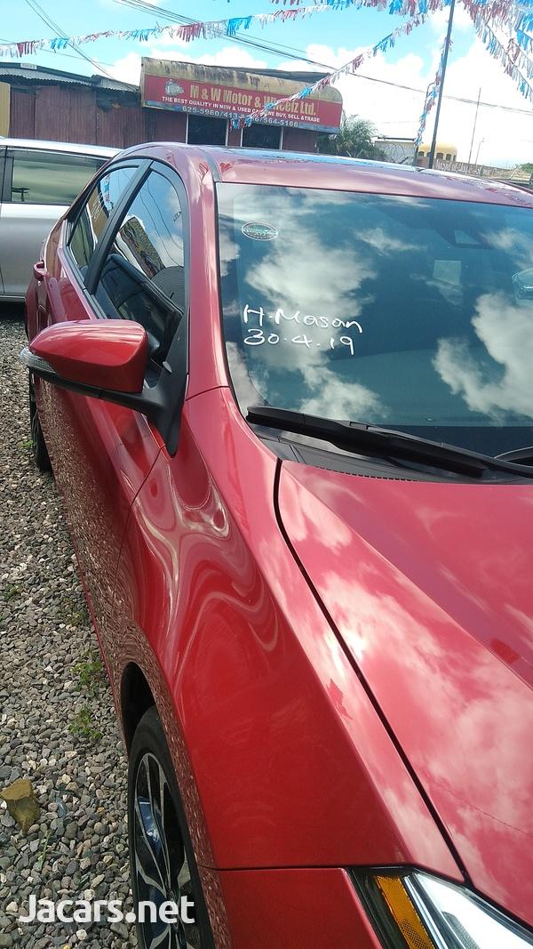Toyota Corolla 1,8L 2018-2