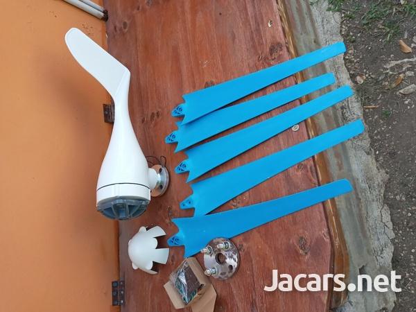 12/24 volt wind turbine. 8000watt.-3