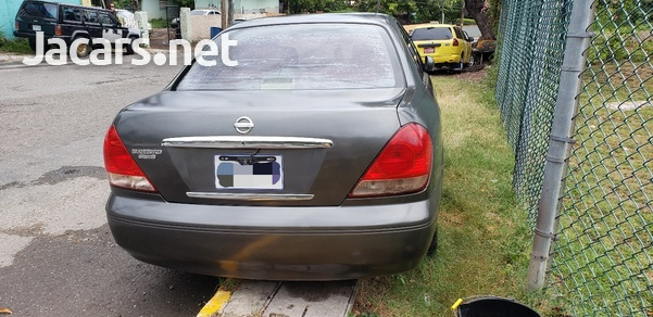 Nissan Bluebird 1,8L 2003-4