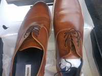 mens leathers shoes size 13