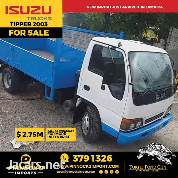 Isuzu Tipper Truck 2003-1