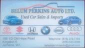 Belum perkins auto limited
