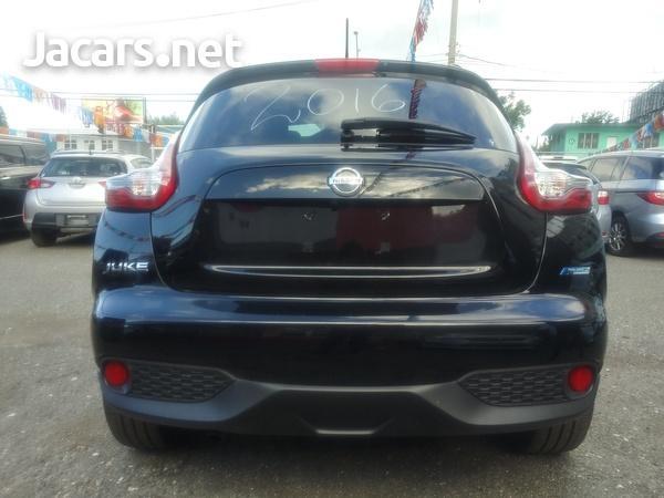 Nissan Juke 1,6L 2016-15