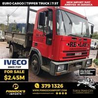 Iveco Euro Cargo Tipper Truck 2003 7.5T