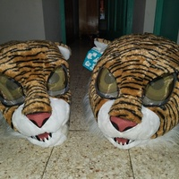 Tiger costumes one pair