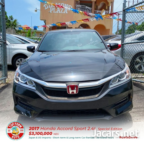 Honda Accord 2,4L 2017-2