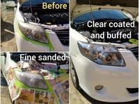 UV protection head lamp restoration service