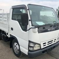 2006 Isuzu / Elf Manual 4.8L Flatbed Truck 3 Ton