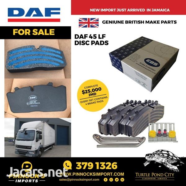 DAF 45LF DISC PADS