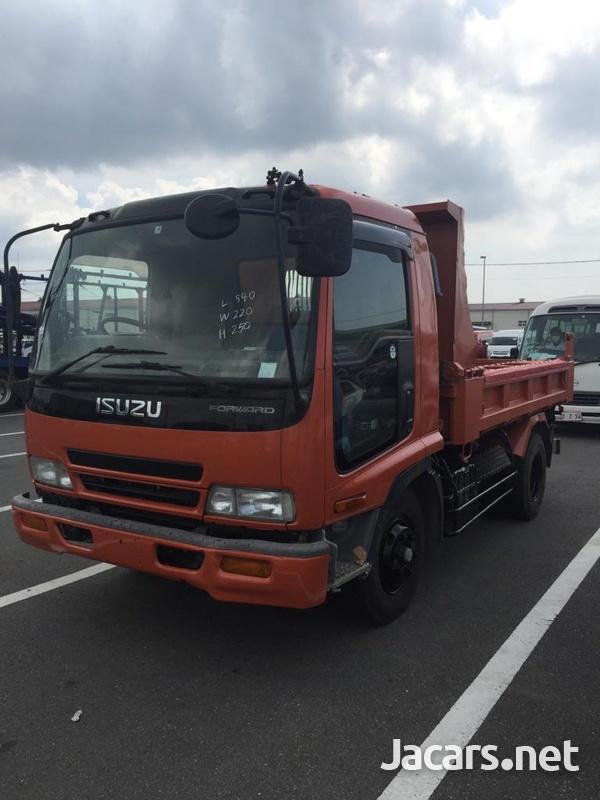 2004 Isuzu Forward Dumper Truck-1