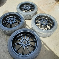 18 inch rims and tyres 245/40/18