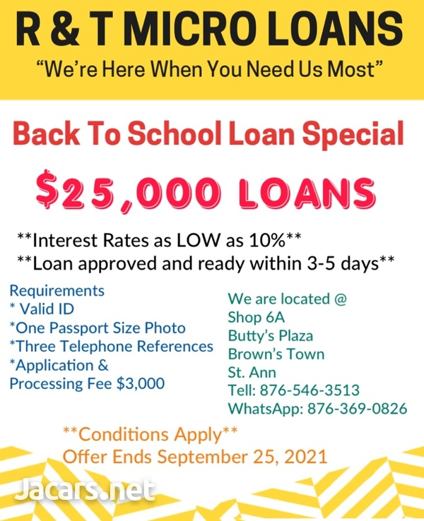 R & T Micro Loans-3