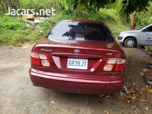 Nissan Almera 1,6L 2001-4