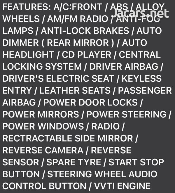 Toyota Corolla Altis 1,8L 2015-3