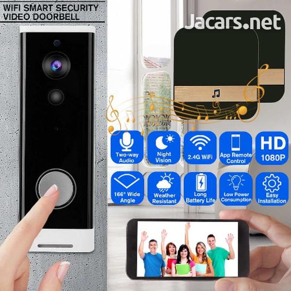 WiFi Doorbell Alarm System Intelligent Wireless-4