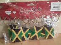 Jamaica Key Ring