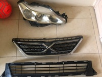 2011- 2013 Toyota Mark X Left Headlight and Front Grill