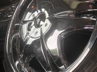 Set of Chrome Giovanna Rims with new Nankang Tyres