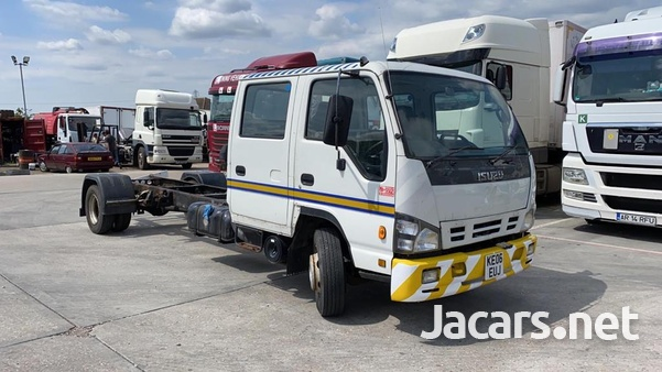 Isuzu NQR Double Cabin Chassis 7.5T 2006-2