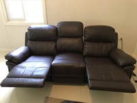 3 seat recliner couch like new