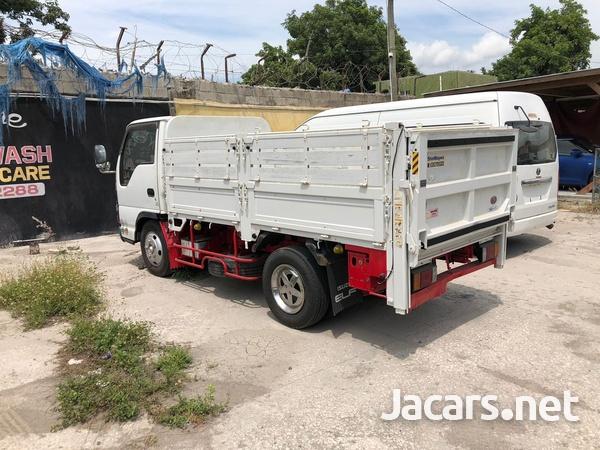 2006 Isuzu Elf Truck drop side power gate-3