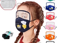 Children Reusable Face Shield and Mask with 2 Filters
