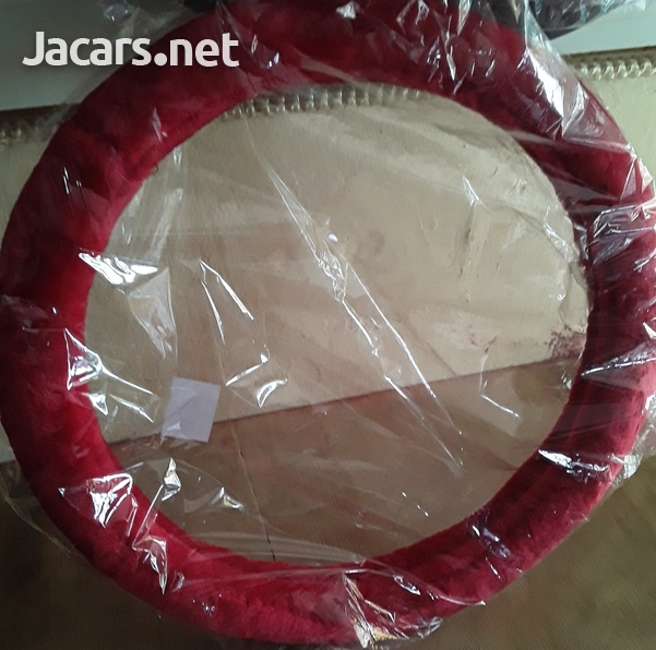 Red Steering Cover