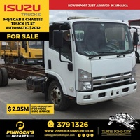 Isuzu NQR Cab and Chassis Truck 7.5T 2012
