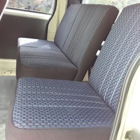 BUS SEATS WITH DIFFERENCE FOR TOYOTA HIACE AND NISSAN CARRAVAN.