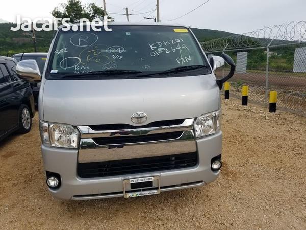 2014 Toyota Hiace DX GL Bus-1