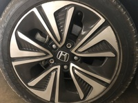 Honda Civic Stock Wheels