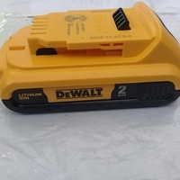GET YOUR BACKUP DEWALT 20 VOLT BATTERIES