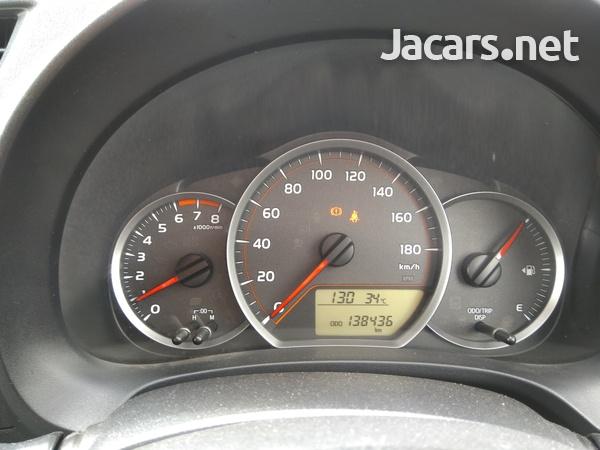 Toyota Vitz 1,5L 2011-15