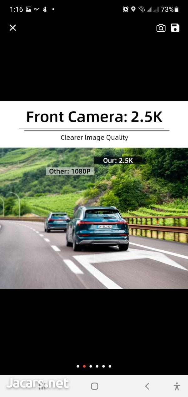 10inch Touch Screen Google Dash Cam-4