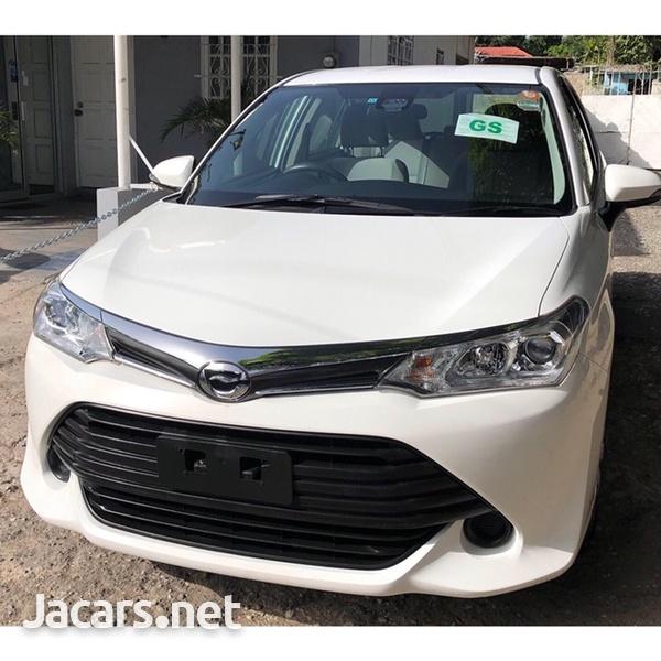 Toyota Axio 1,3L 2016-2