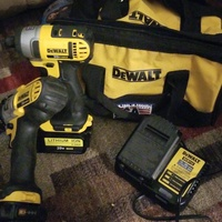 Dewalt HammerDrill And Impacter