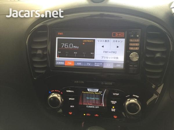 Nissan Juke 1,5L 2012-8