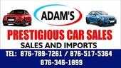 Adams Prestigious Car Sales & Rental Service.