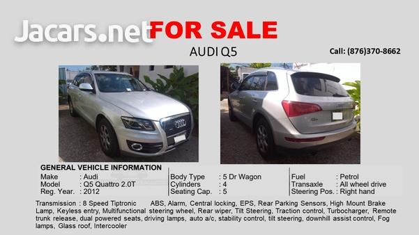 Audi Q5 2,5L 2012-5