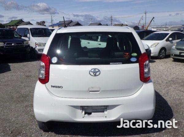 Toyota Passo 1,0L 2016-2