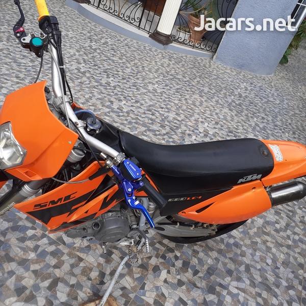 ktm supermotor 2005 660-8