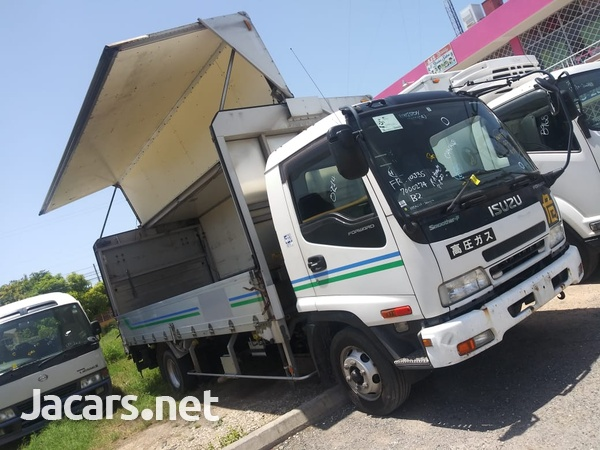 Isuzu Forward 2006 Aluminum Wing Truck-2