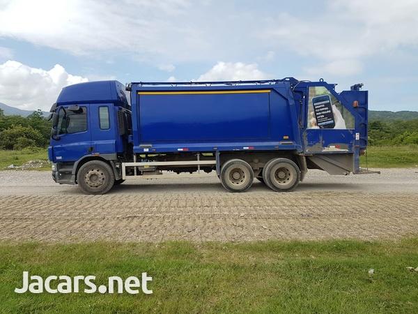 2008 Daf Cf75 Garbage Truck-3
