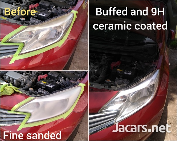 9H ceramic coating head lamp restoration-4