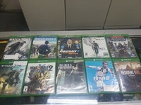 xbox one game cds