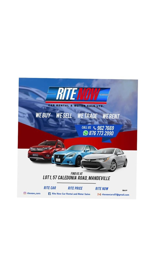 RiteNow Car Rental & Motor Sales LTD