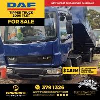 2006 DAF Tipper 7.5T Truck