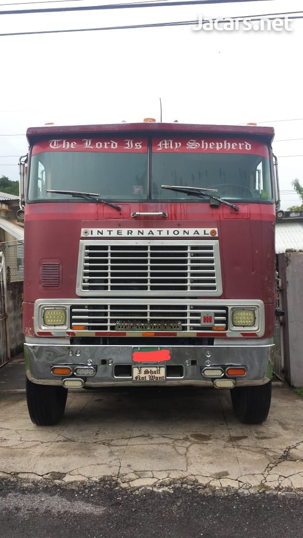 1986 INTERNATIONAL CAB-OVER TIPPER TRUCK-1